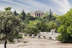 templet i hephaestus foto
