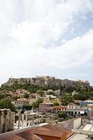 athens akropolis parthenon foto