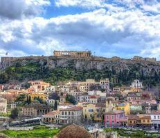 parthenon tempel, Grekland foto
