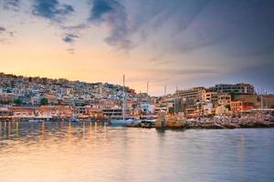 mikrolimano marina i piraeus, athens. foto
