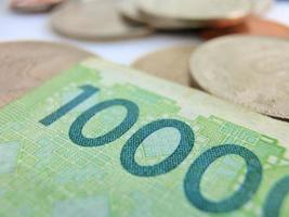 koreanska pengar foto