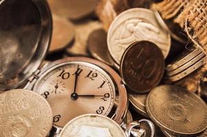 tid är pengar foto