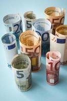 euro pengar foto