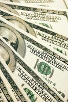 pengar hög närbild