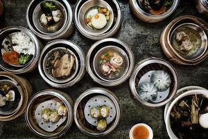 dimsum kinesisk mat foto