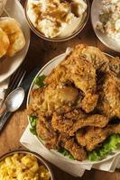 hemlagad södra stekt kyckling foto
