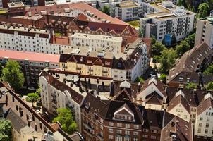 europeisk byggnad i hamburg foto