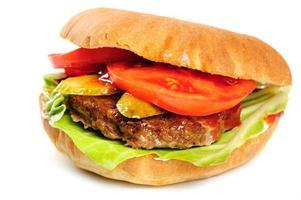realistisk snygg hamburgare