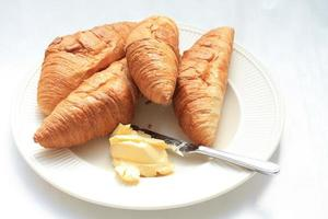 franska croissanter foto