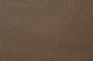 närbild av sömlös brun läder textur foto