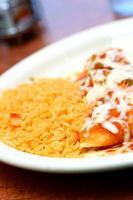 mexikansk måltid foto