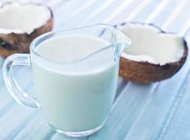 kokosmjölk foto