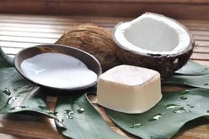vård kokosnöt foto