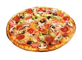 deluxe pizza foto