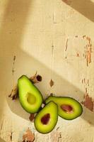 färsk avokado foto