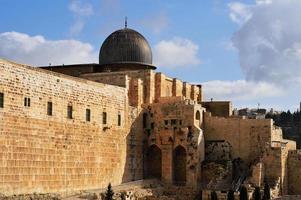 al aksa moské, Jerusalem foto