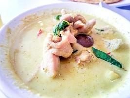 thailändsk grön curry