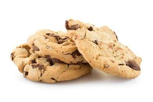 Chocolate chip cookies foto