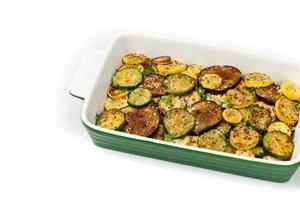 sauterade grönsaker foto
