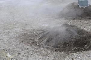vulkanisk matlagning foto