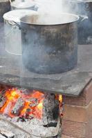 matlagning eld foto