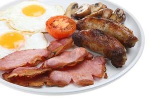 tillagad frukost foto