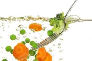 matlagning grönsaker foto