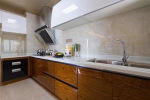 inhemskt kök foto
