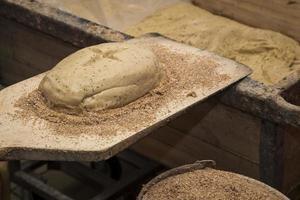 bakning rågbröd foto