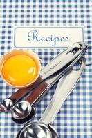 boken med recept foto