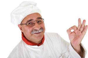 italiensk kock foto