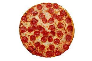 hela pepperonipizza foto