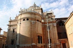 basilika av santa maria steccata i parma italy foto