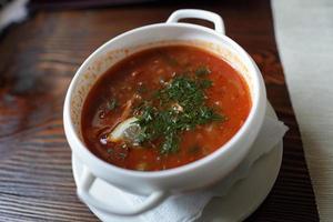 tallrik soppa foto