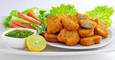 vegetabiliska nuggets-7 foto
