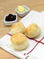 bakade scones foto