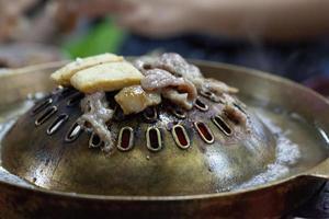 koreansk grillfest foto