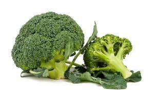 broccoli isolerad foto