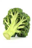 färsk rå broccoli foto