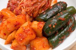 kimchi blandade foto