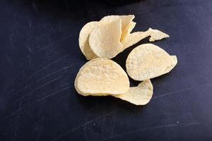 potatis chips foto
