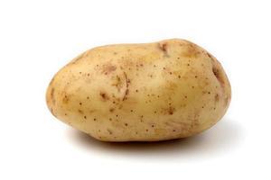 rå potatis 9 foto