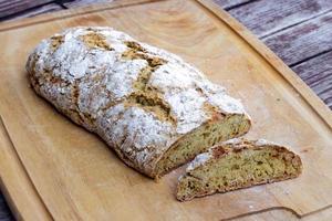 färskt bröd. foto