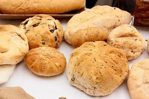 italiensk bröd foto