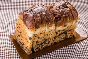 multigrain bröd. foto