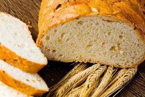 färskt bröd foto