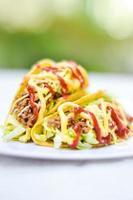 tacos mexikansk mat foto