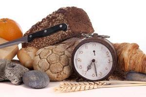 bröd och frukost foto
