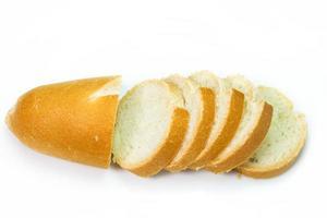 franska baguettskivor foto