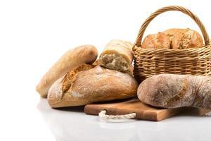 sammansättning med bröd foto